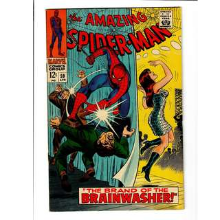 Marvel Comics Amazing Spider-Man #59 Silver Age 8.0 VF High Grade