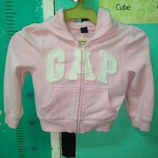 GAP pink hoodie 1-2yrs old