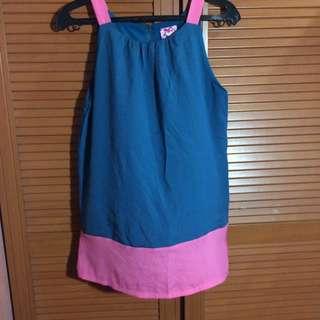 HALTER SHIRT DRESS