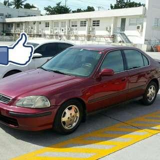 1996 Honda Civic Vti Vtec Matic