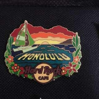 Honolulu Hard Rock Pin Limited Edition