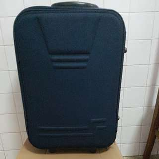 Giannetto collection 20 inch navy luggage