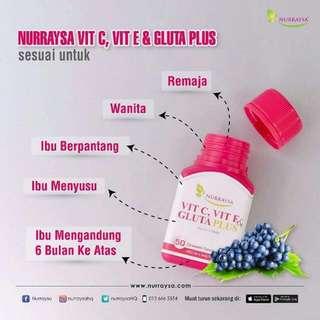 Vit C, Vit E & Gluta Plus
