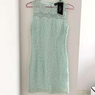 Zalora Bodycon Lace Dress XS
