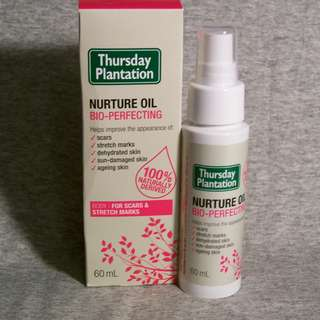 Thursday Plantation Nurture Oil Bio-Perfecting 60mls