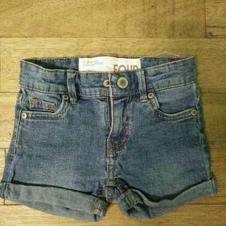 COTTON ON maong shorts kids