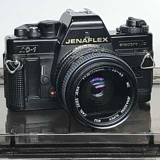 JENAFLEX 35mm Film Camera - Made In GERMAN DEMOCRATIC REPUBLIC