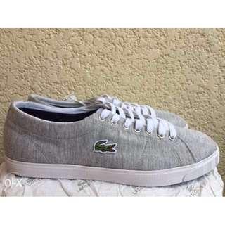 Brandnew Orig Lacoste sneaker rubber shoes size 9.5 12