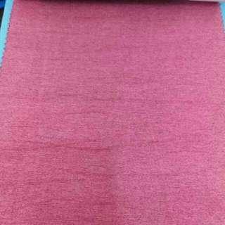 窗簾布 (粉紅色遮光布, 防紫外光) 60寸x高度2.4m