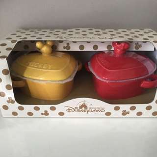Hongkong Disney Limited Edition casserole Set !