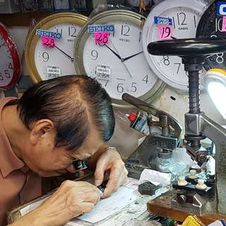 Watch Clock Repair Services