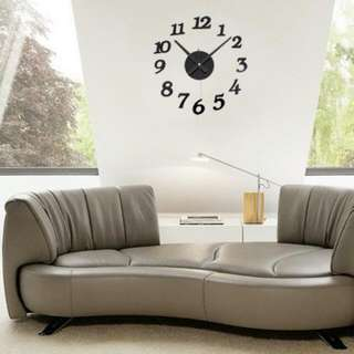 Giant Wall Clock 30-50 cm/ jam dinding