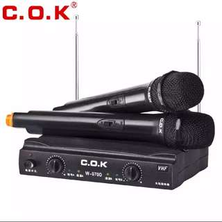 C.O.K Wireless Microphones System