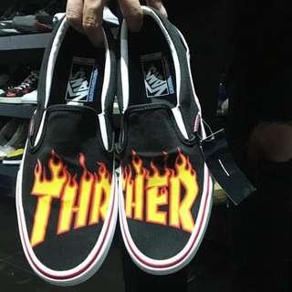 Vans X Thrasher Crossover 火焰 Slip On Pro