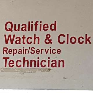 Qualified Watch And Clock Technician