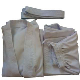White Belt Taekwondo/Aikido Uniform Set