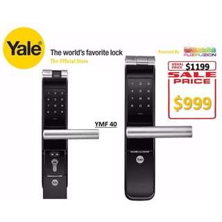 Yale Biometric Mortise Lock - YMF 40