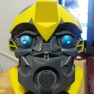 The Transformers : Bumblebee's Head Piggy Bank #jualmainan