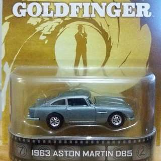 Hotwheels James Bond Goldfinger : 1963 Aston Martin DBS #jualmainan