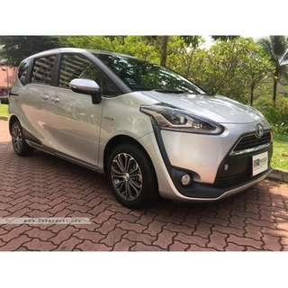 Brand New Toyota Sienta Hybrid 1.5A X