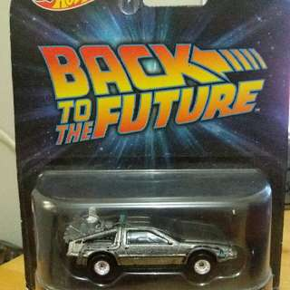 Hotwheels Back To The Future : Time Machine Mr. Fusion #jualmainan