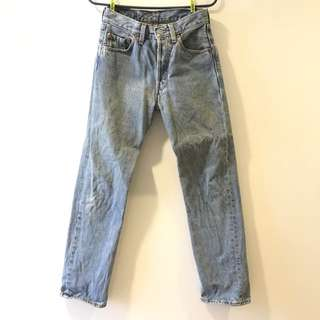 Levis501 直筒牛仔褲