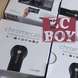 (No bargain不議價) Google Chromecast 全新 Brand New