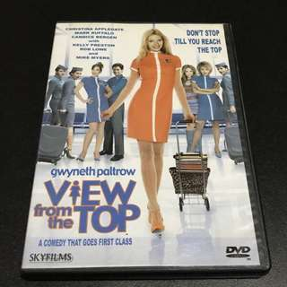 VIEW FROM THE TOP Movie DVD