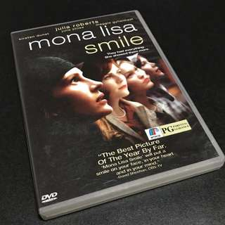 MONA LISA SMILE Movie DVD