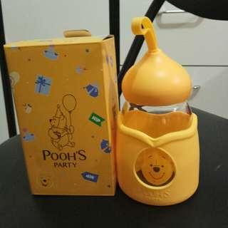 百老匯 Broadway 小熊維尼 Winnie The Pooh 玻璃水樽 水瓶