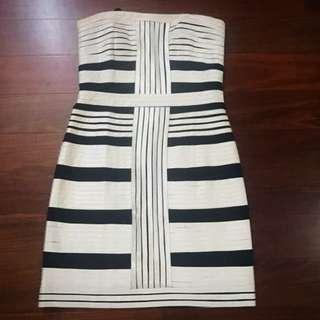 Stripes Formal Tube Dress (Ms. Money Penny)