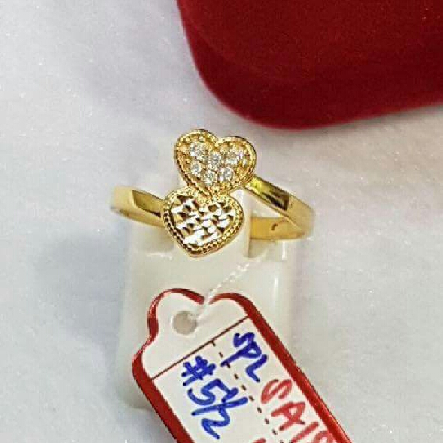 18k Saudi Gold Ring Spl
