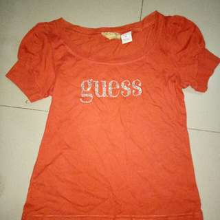 Guess Shirt For Girls 6-8yrs Old