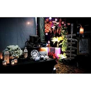 Alice In The Wonderland Fairytale Wedding Theme Stage Reception Solemnisation Decoration