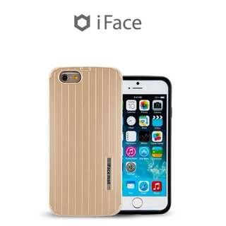 """(包郵費)韓國 iPhone 6 Plus (5.5"""")手機殼 Phone Case Cover 蘋果 6S+ 5.5"""" 防撞防摔 包邊保護套 (金色)"""