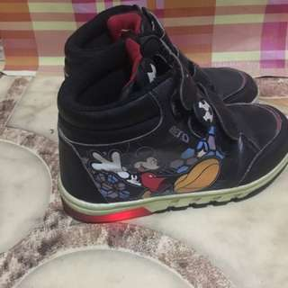 Mickey Mouse Shoes with Light