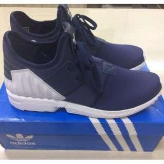 【全新出清】 Adidas Originals ZX FLUX PLUS 海軍藍 藍白 小Y3 深藍 S79061 忍者 繃帶鞋 US 11號  走路 慢跑 運動 都好穿的鞋