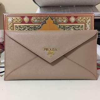 Prada letter wallet