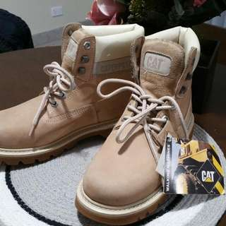 Steel cap Caterpillar Boots
