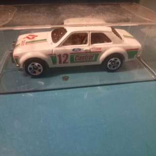 Hot Wheels Ford Escort Loose