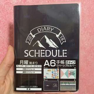 Camp 2018 A6 Monthly Weekly Schedule Book Planner Diary Journal