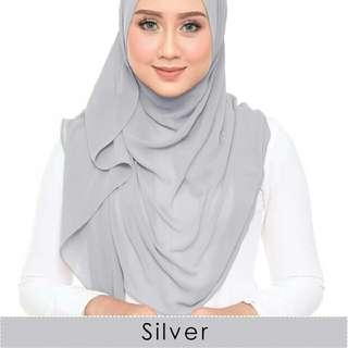 Silver Asfiya Shawl