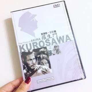 🚚 知名電影 羅生門 黑澤明 影展 DVD CD