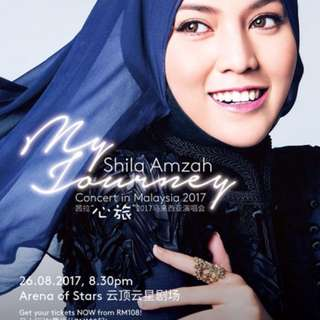 Shila Amzah Concert in Arena Star Genting Highlands