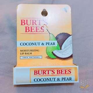 Burt's Bees 椰爺多喝水護唇膏