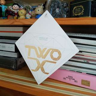 韓國正版CD TWO X 1st Single Double Up