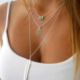 KALUNG MULTILAYER CHAIN SILVER