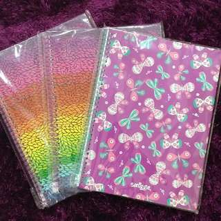 Smiggle Notebook A4 size 160 pages (80 Sheets)