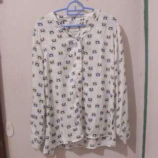 Cat blouse
