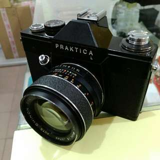Praktica L Film Camera With Chinon - Tomioka F1.4 55mm